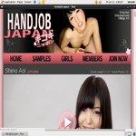 Account For Handjob Japan