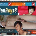 Asian Boy 18 Hard