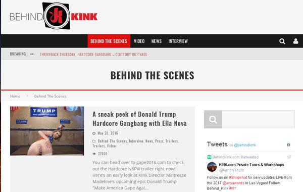 Behind Kink Con Deposito Bancario