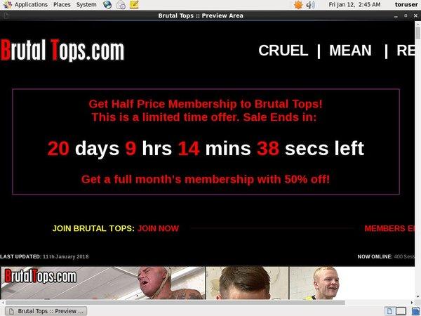 Brutal Tops Buy Membership