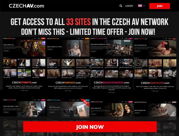 Czech AV Porn Pass