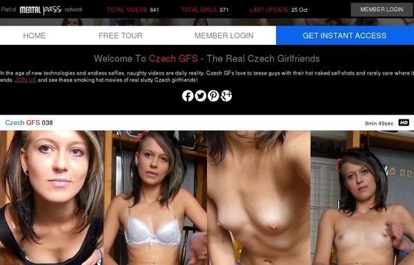 Czech GFS Paypal Offer