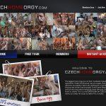 Czech Home Orgy Valid Password