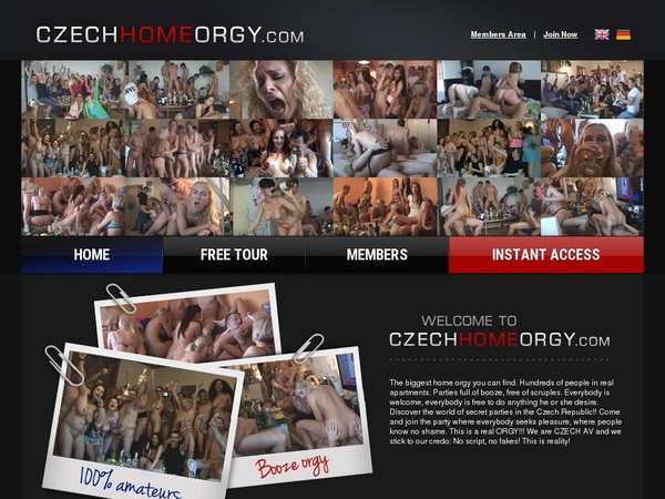 Czech Home Orgy With Canadian Dollars