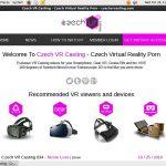 Czech VR Casting Website Password