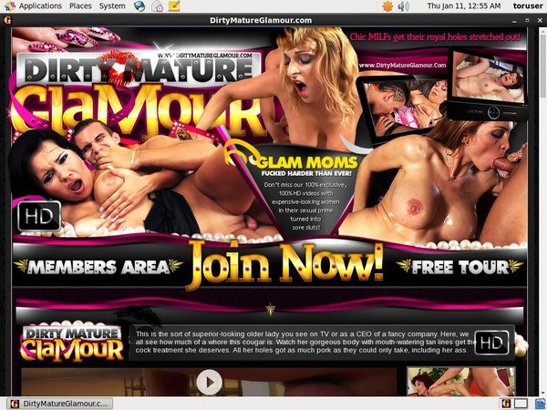 Dirtymatureglamour.com Login Info