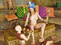 Femdom3d.com femdom art