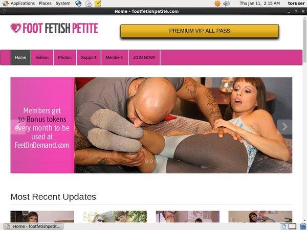 Foot Fetish Petite Free Login And Password