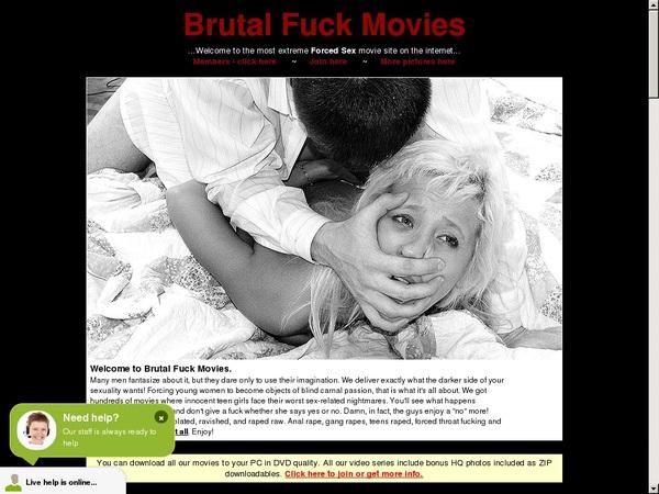 Free Brutalfuckmovies.com Account New