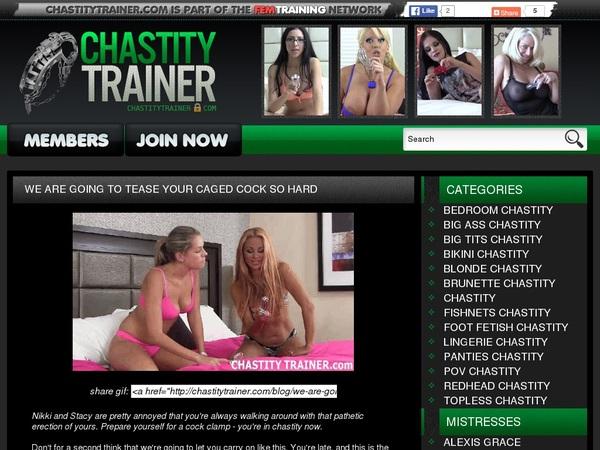 Free Chastity Trainer Premium
