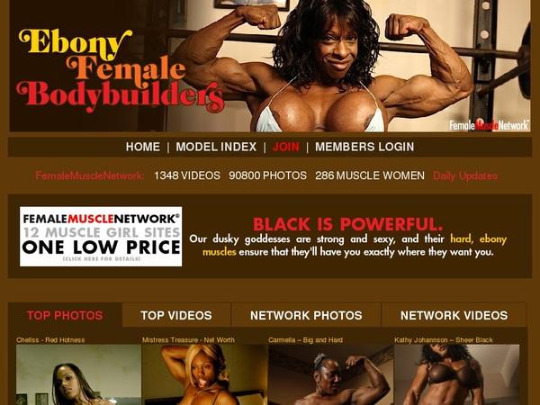 FreeEbony Female Body Builders Accounts