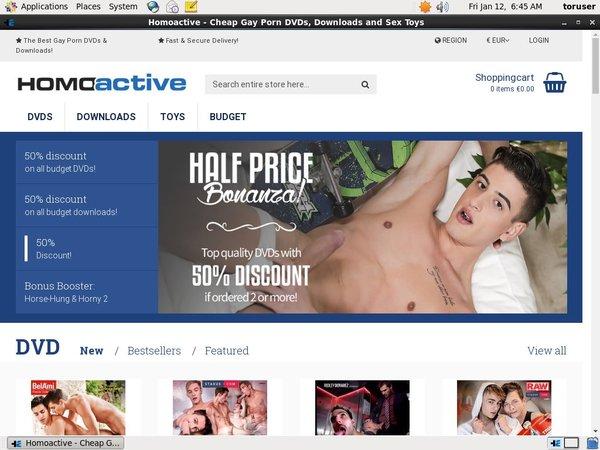 Homoactive.com 支払い