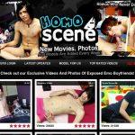 Homoscene Website Accounts