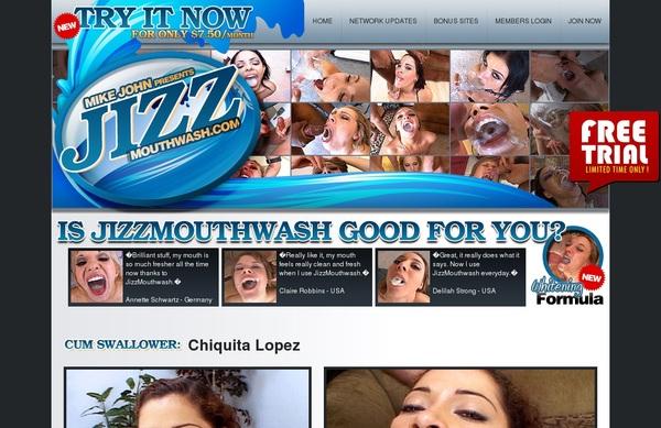 Jizz Mouth Wash Free