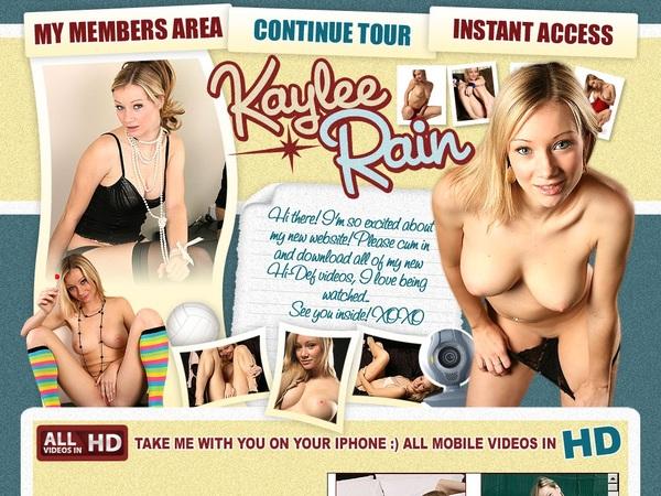 Kaylee Rain Password Details