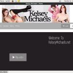 Kelsey Michaels Crear Cuenta