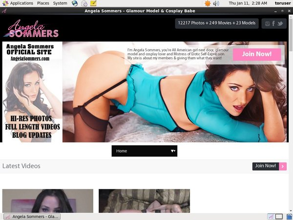 Log In Angelasommers.com