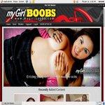 Mygirlboobs.com Accounts Working