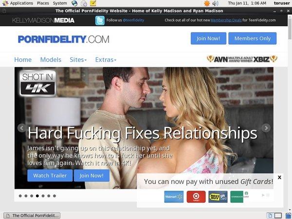 Pornfidelity Free Acounts