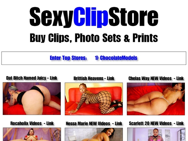 Sexy Clip Store With Discover Card