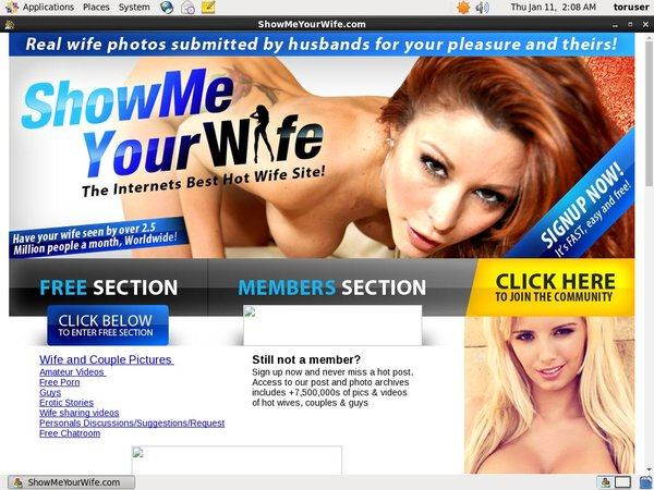 Show Me Your Wife Discount
