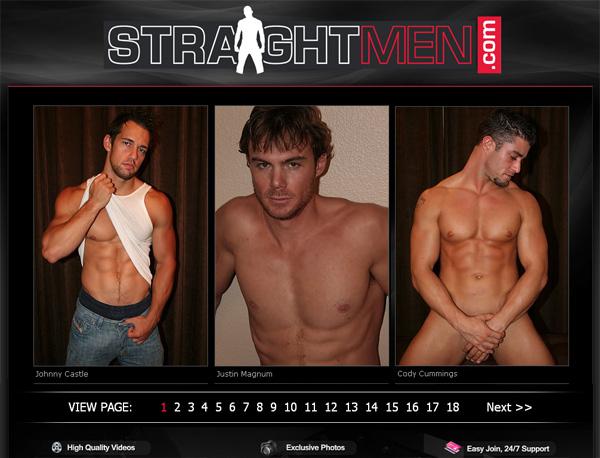 Straight Men Full Scene