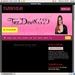 Tazdevil69.modelcentro.com Create Account