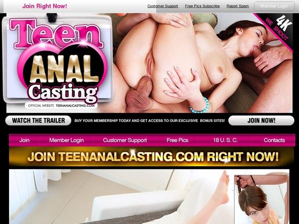 Teen Anal Casting 注册帐号