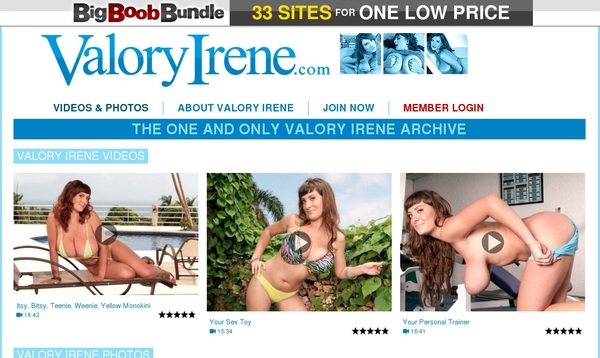 Valory Irene Offer Paypal
