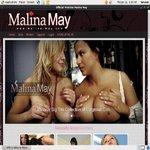 Working Malina May Account