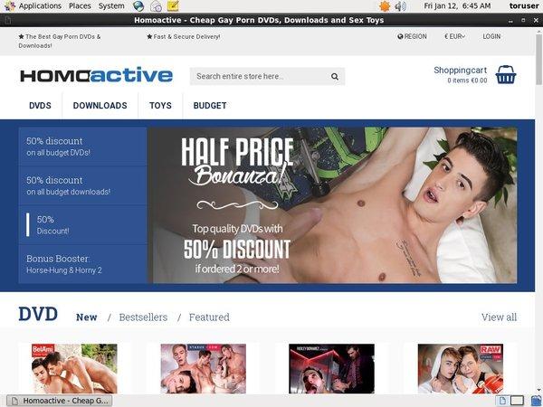 Homoactive Downloads Free Account