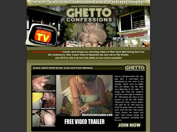 Ghetto Confessions Membership Plan