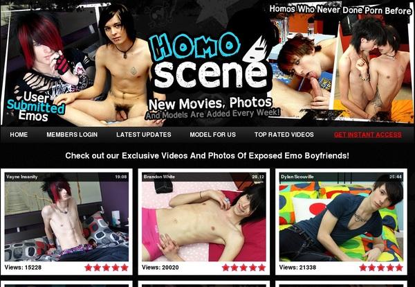 Homo Scene Contraseña Gratis