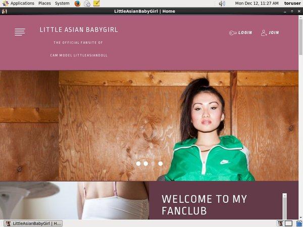 Little Asian Babygirl Member Access