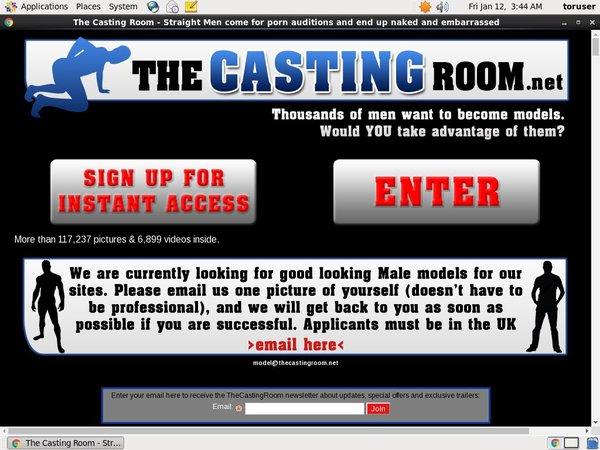 The Casting Room Porno