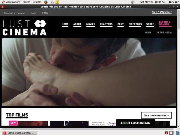 Lustcinema.com New Accounts