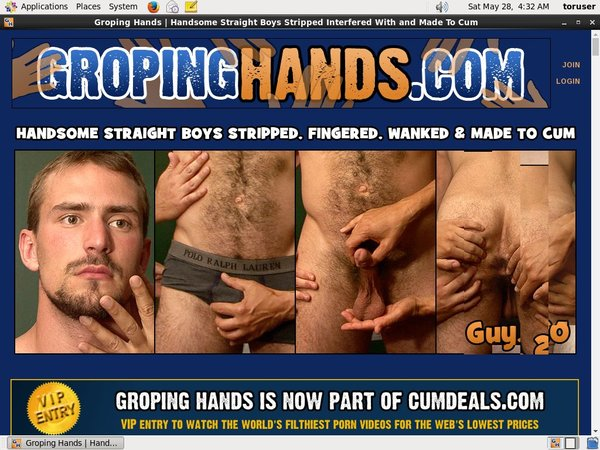 Free Accounts In Groping Hands