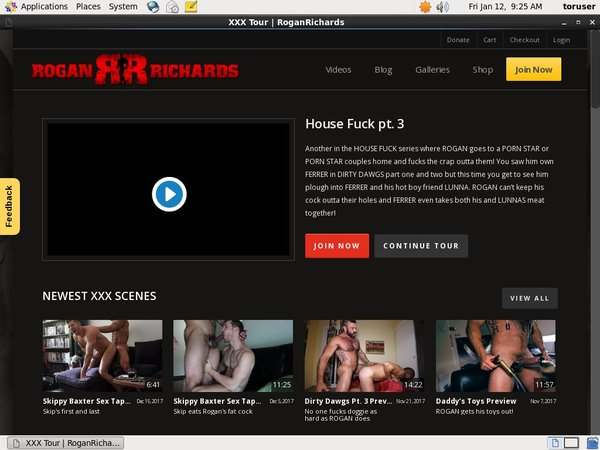 Free Rogan Richards Account Password