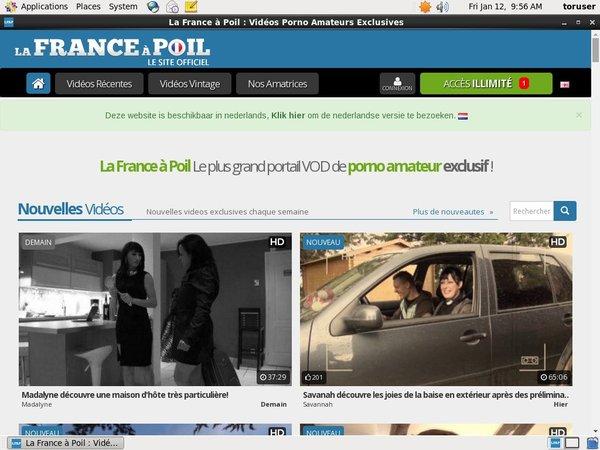 La France A Poil Free Passwords