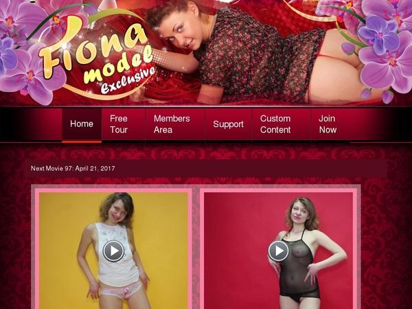 Fiona Model Account Blog