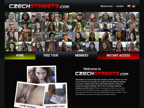 Czechstreets User And Password