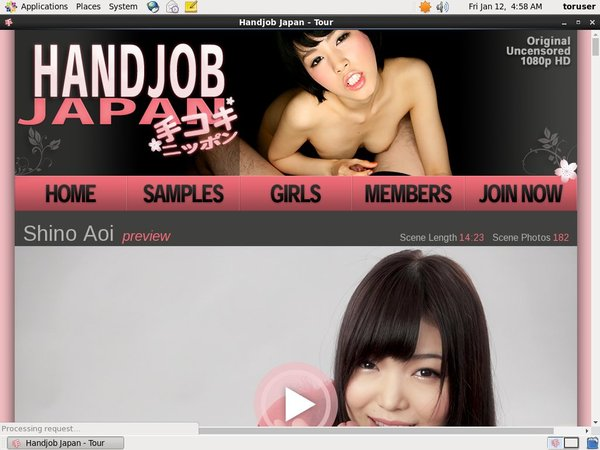Handjobjapan.com Alternative Payment