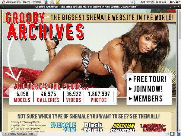 Free Login Grooby-archives.com