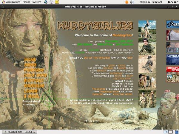 Muddy Girlies Web Billing
