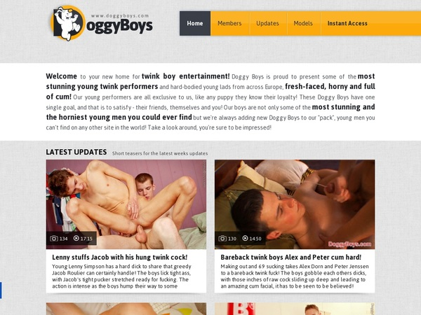 Doggyboys With Webbilling.com