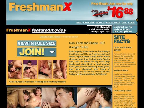 Freshmanx.com Gratis