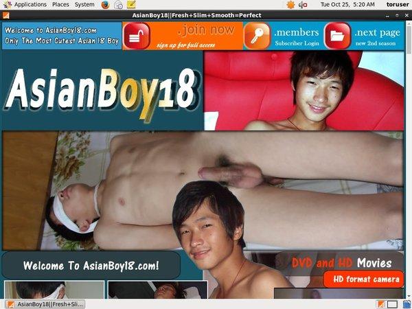 Asianboy18 Password Username