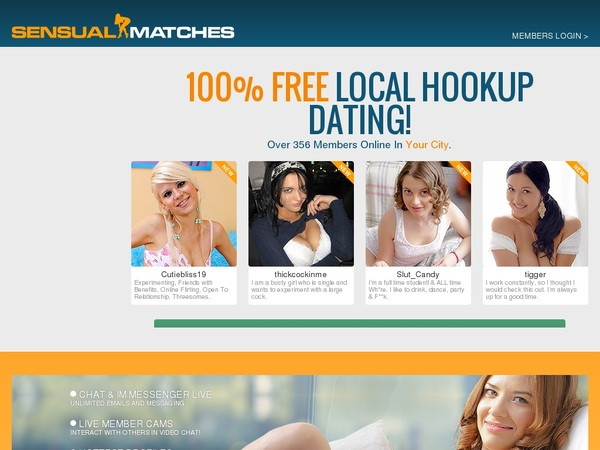 Passwords To Sensualmatches.com