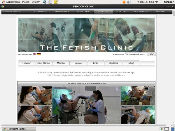 The Fetish Clinic Account 2015