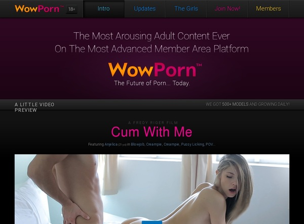 How To Access Wow Porn